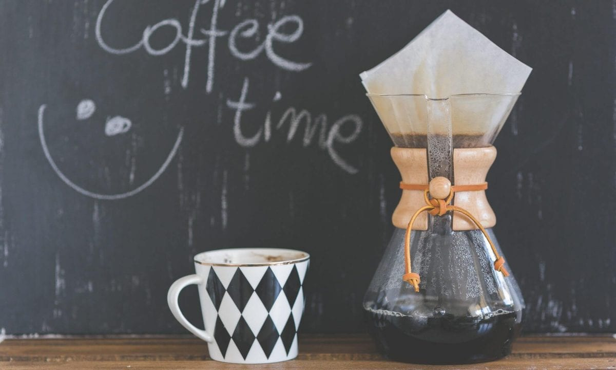 Chemex pour-over coffeemaker