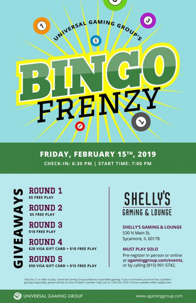 Bingo Frenzy flyer
