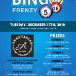 Bingo Frenzy @ Anastasia's