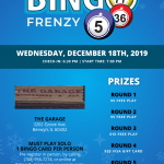 Bingo Frenzy @ The Garage