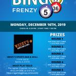 Bingo Frenzy @ Weezy's
