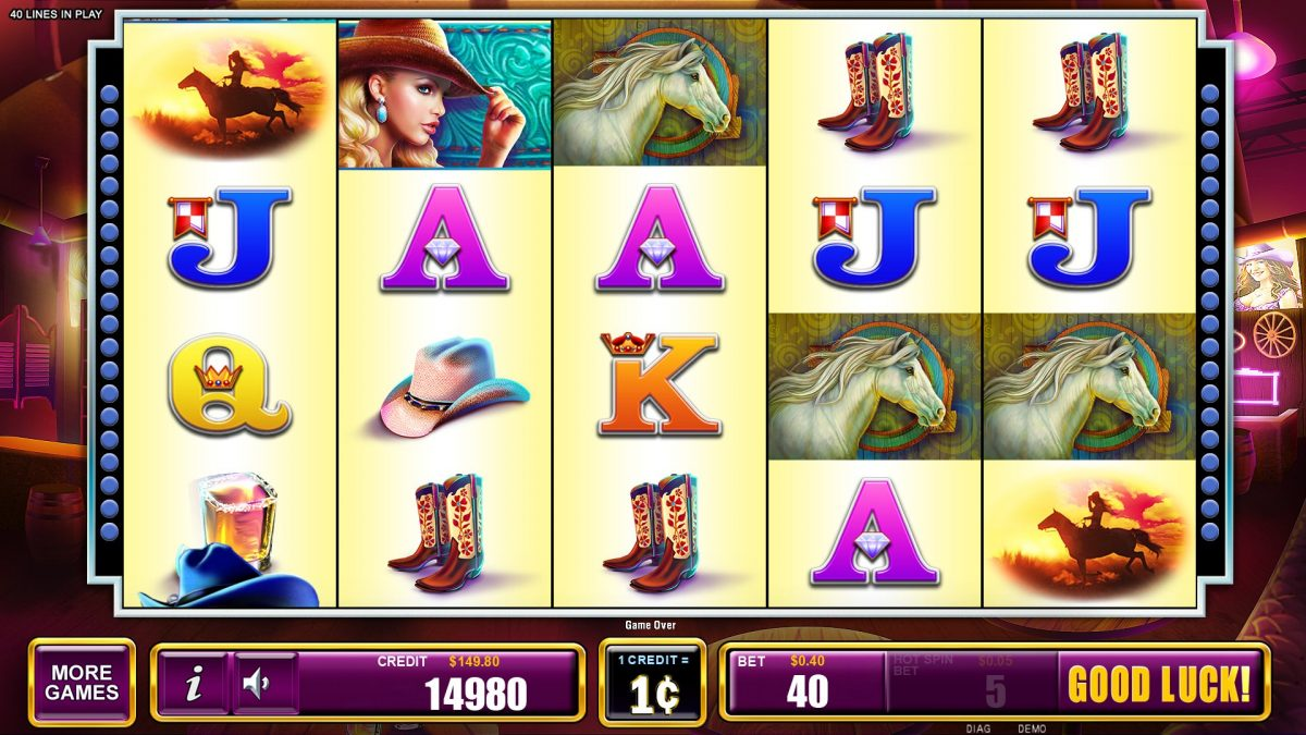 How to play the slot machine game Country Girl